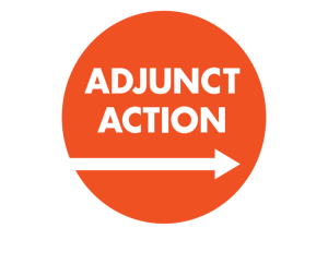 Adjunct Action logo